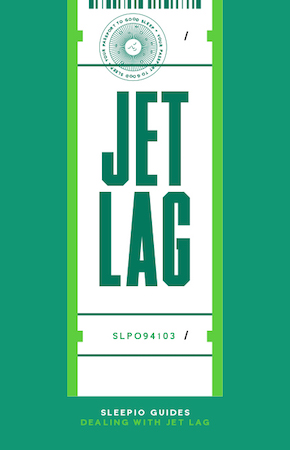 Dealing with jet lag book cover
